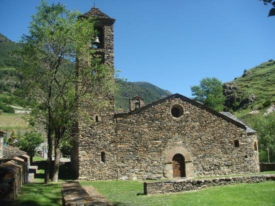 Church of Sant Marti de La Cortinada