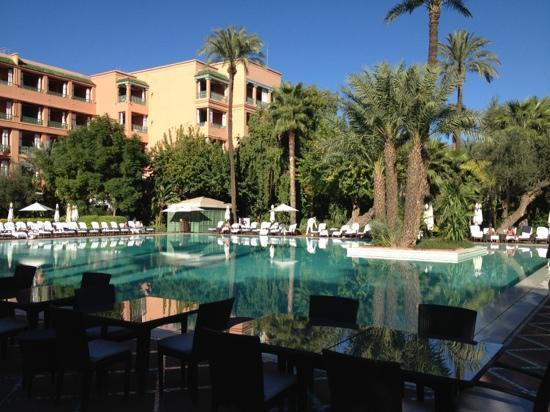 La Mamounia Marrakech : pool mamounia