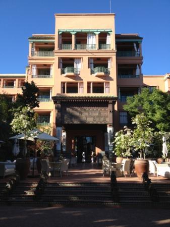 La Mamounia Marrakech : outside patio