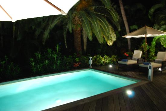 Cheval Blanc St-Barth Isle de France: Tropical Villa Pool