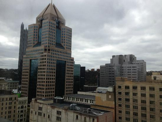 Renaissance Pittsburgh Hotel: room view from 1410