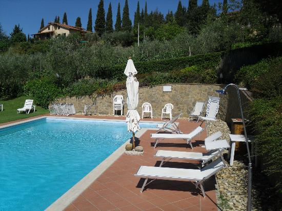 Villa Il Borraccio: Piscina all'Aperto