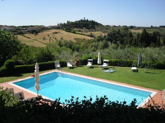 Villa Il Borraccio : Piscina
