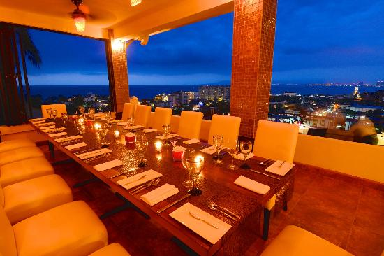 Vista Grill : Private Dining area overlooking the bay