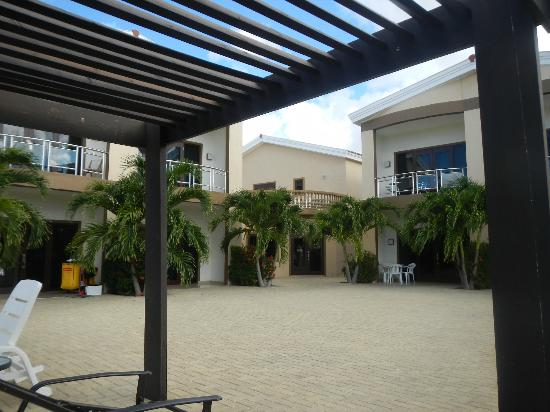 Aruba Breeze Condominium: Outside of Office, Meeting room upstairs