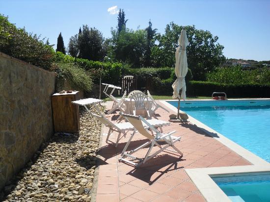 Villa Il Borraccio : Piscina all'aperto