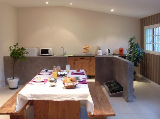 Le Moulin de Vrin: Salle des petits déjeuner