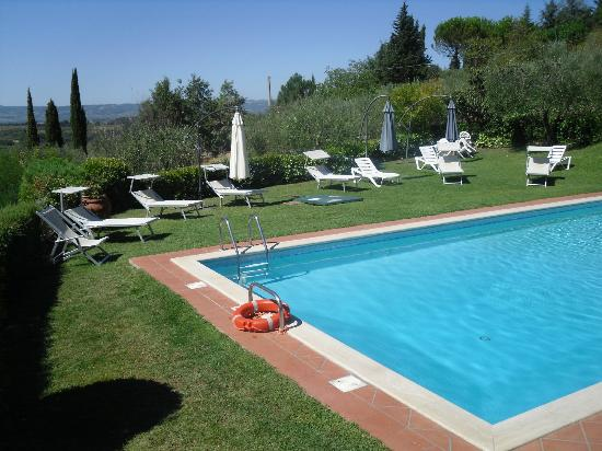Villa Il Borraccio: Piscina