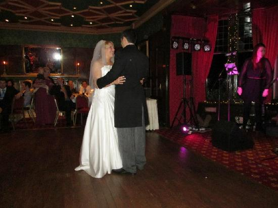 Bunchrew House Hotel: first dance