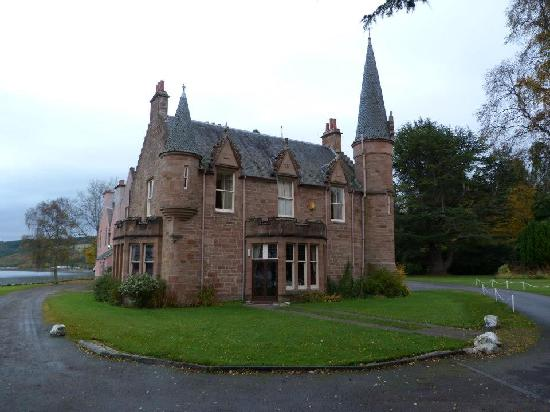 Bunchrew House Hotel: next morning