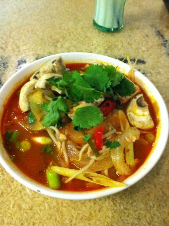 Rice Flame Bar & Grill: Thai Tom Yum Noodle Soup
