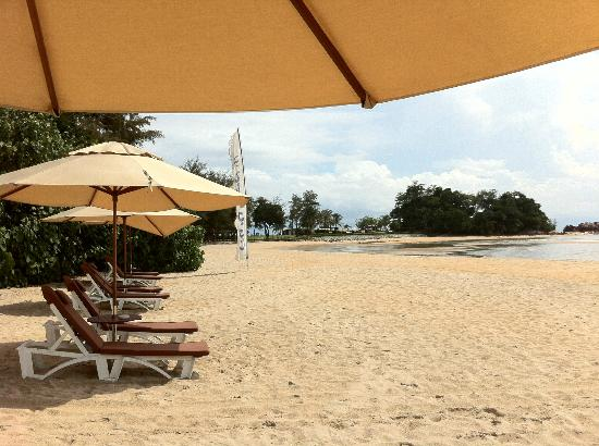 Club Med Cherating Beach: The main private beach