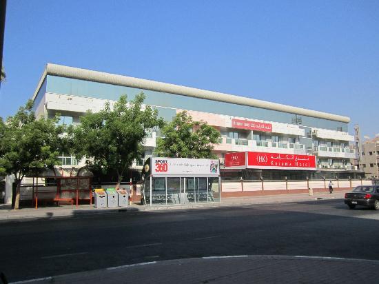 Fortune Karama Hotel Hinterseite Des Hotels