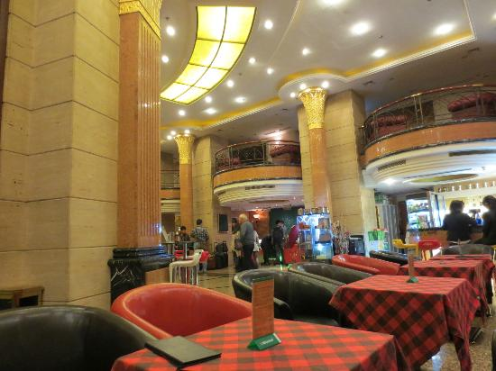 Manhattan Bund Business Hotel: Lobby cafe