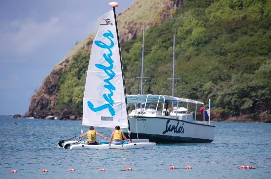 Sandals Grande St. Lucian Spa & Beach Resort: Water activities