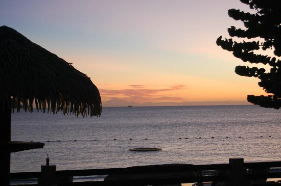 Sandals Grande St. Lucian Spa & Beach Resort: A beautiful sunset