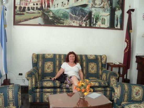 Hotel Crillon: totalmente acogedor, y con servicio de internet