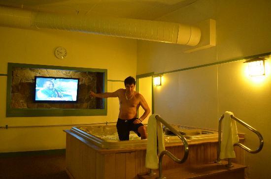 Steele Hill Resorts: Jacuzzi indoor