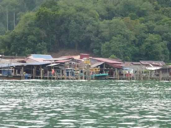 ไทเกอร์ ร็อค: Farewell Pangkor on return ferry trip home