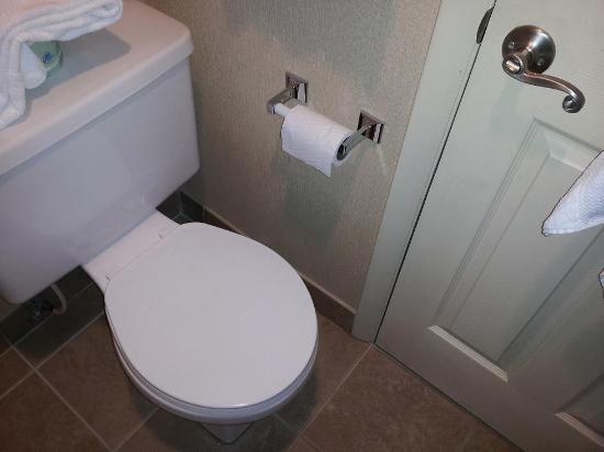 Atlantis Inn: Cramped bathroom, very tiny