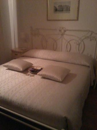 Al Piccolo Clarin: la splendida camera da letto... come dal sito!