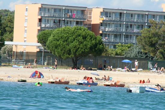 Holiday Hotel: Vue de la plage