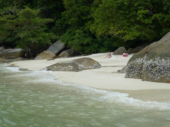 Tiger Rock: Enjoy your own private beach for a day