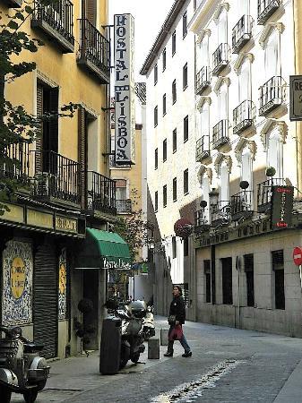 Hotel Residencia Lisboa: Hotel y alrededores