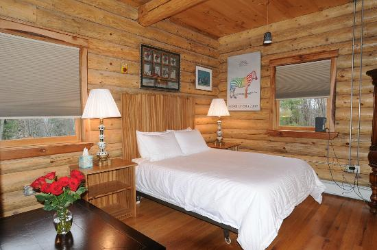 "Private Hotel + Pure Food Villa: The Log House ""Zebra Room"""