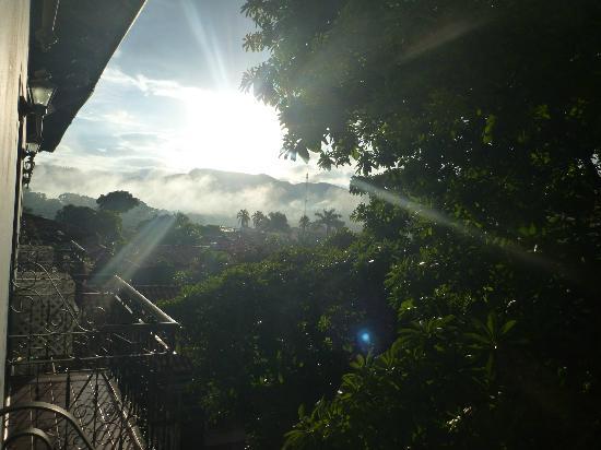 Hotel Marina Copan: lever de soleil
