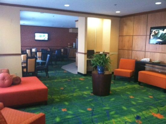 Fairfield Inn & Suites Beloit: Lobby