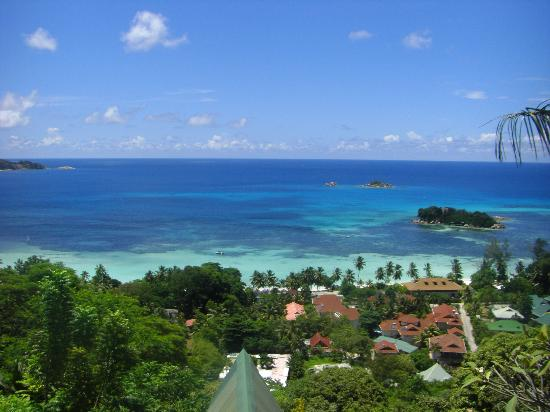 Mango Lodge: Blick von der Terrasse