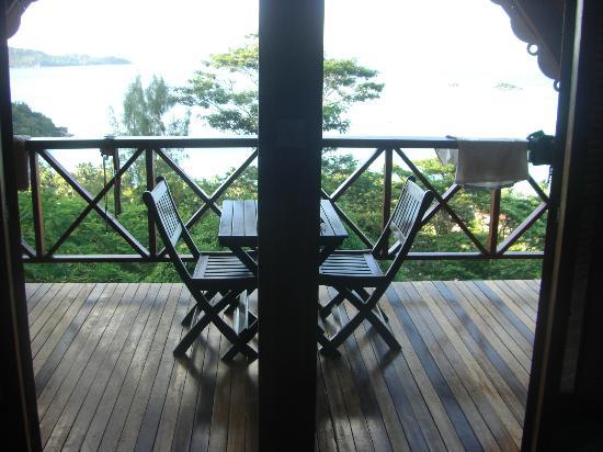 Mango Lodge: Terrasse