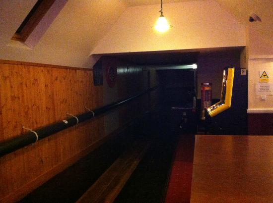 The Crossways Inn: Skittle alley