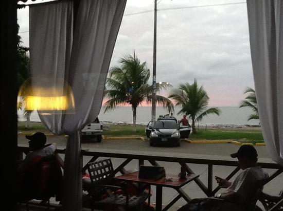 Puerto Cortes, הונדורס: restaurante del hotel 