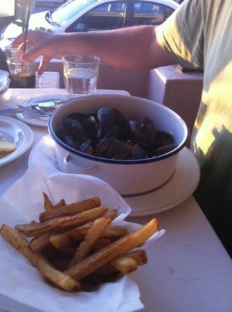 Grand Africa: starter mussels