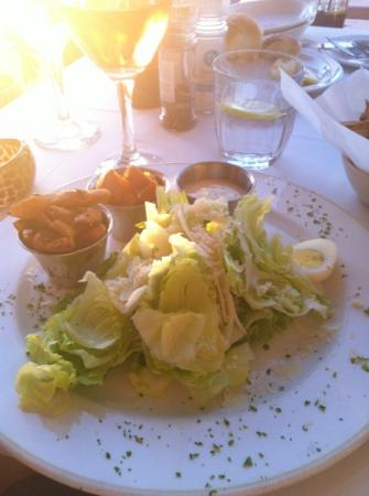 Grand Africa: ceasar salad