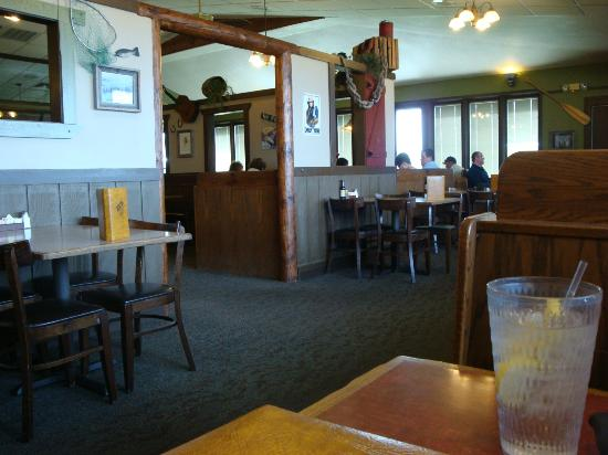 Montana Mike's Steakhouse: Inside Montana Mikes