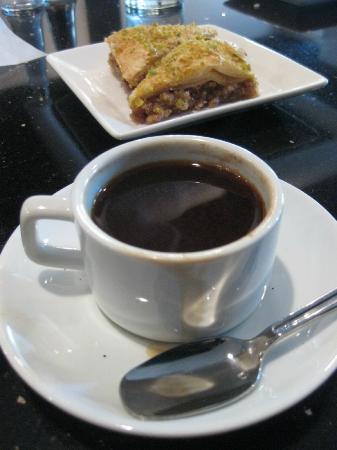 Mazadar Kabob: Baklava and Turkish Coffee