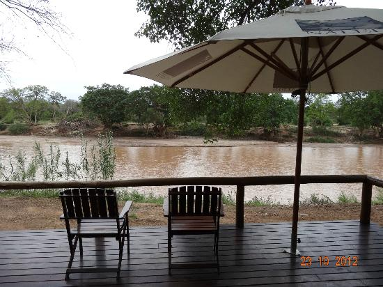 Naledi Bushcamp and Enkoveni Camp: Viev from room Fishing Eagle