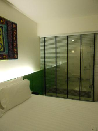 B-Lay Tong Phuket: Shower cabin from the room