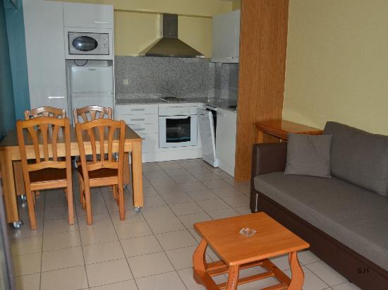 Apartaments Giberga : Lägenheten.