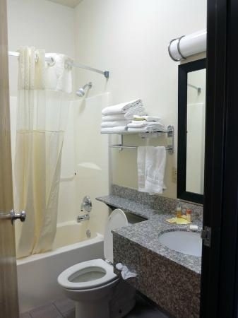 Days Inn & Suites Page Lake Powell: Bathroom