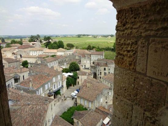 Saint-Emilion Monolithic Church: View From Bell Tower