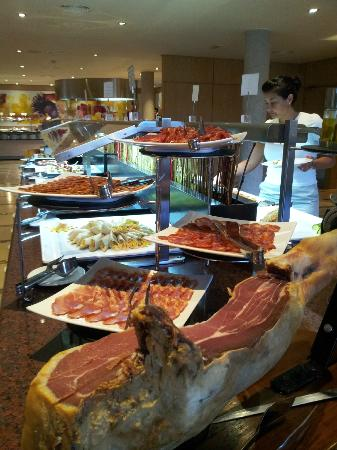 Protur Biomar Gran Hotel & Spa: And more buffet