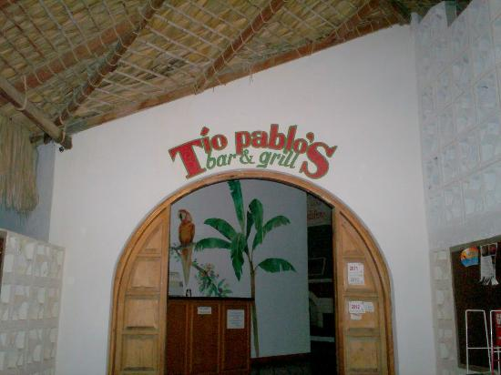 Tio Pablo's: Entrance