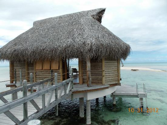 Tikehau Pearl Beach Resort: Overwater Bungalow 6