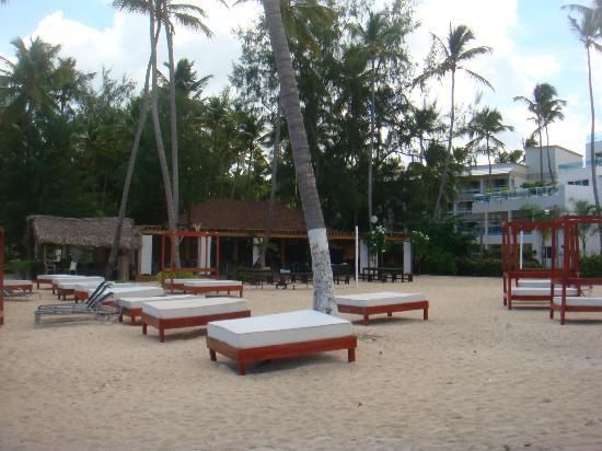 ApartHotel Green Coast: Private beach