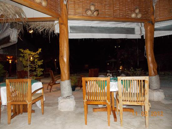 Tikehau Pearl Beach Resort: Bar area