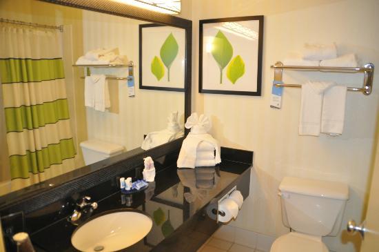 Fairfield Inn & Suites Amarillo West/Medical Center: Bath